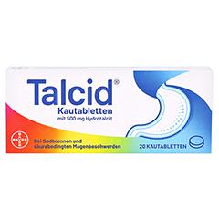 Talcid 20 St�ck N1 - Vorderseite