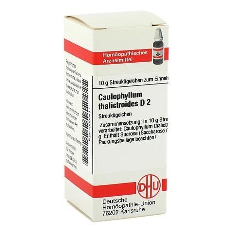 CAULOPHYLLUM THALICTROIDES D 2 Globuli 10 Gramm N1