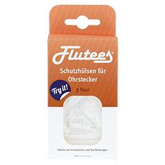 FLUTEES Schutzhülsen für Ohrstecker 5 Stück - Vorderseite