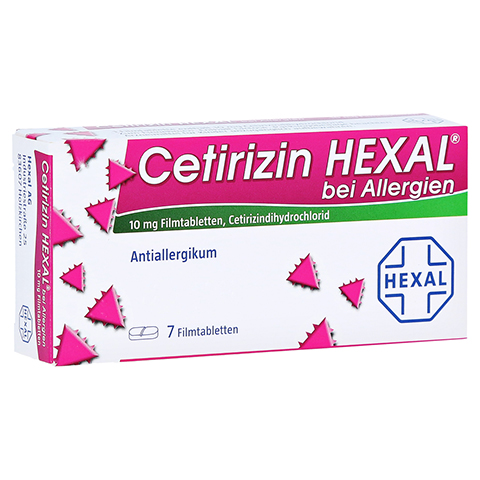 Cetirizin HEXAL bei Allergien 7 St�ck