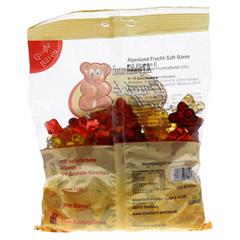 ALPENLAND Fruchtsaft Bären 10Frucht groß 500 Gramm - Rückseite