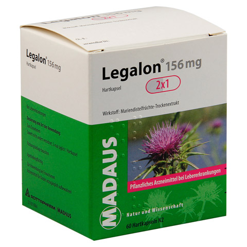 Legalon Madaus 156mg 60 St�ck N2