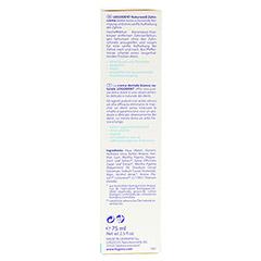LOGODENT Naturweiß Zahncreme 75 Milliliter - Linke Seite
