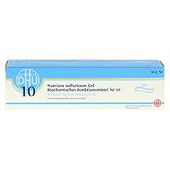 BIOCHEMIE DHU 10 Natrium sulfuricum D 4 Gel 50 Gramm N1 - Vorderseite