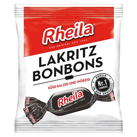 RHEILA Lakritz Bonbons mit Zucker 50 Gramm