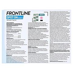 FRONTLINE Spot on H 10 L�sung f.Hunde 6 St�ck - R�ckseite