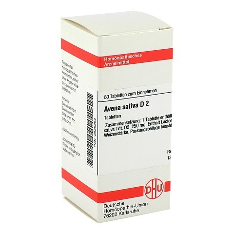 AVENA SATIVA D 2 Tabletten 80 St�ck N1