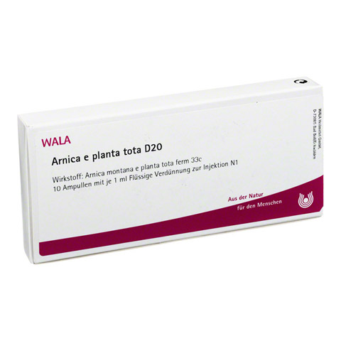 ARNICA E Planta tota D 20 Ampullen 10x1 Milliliter N1