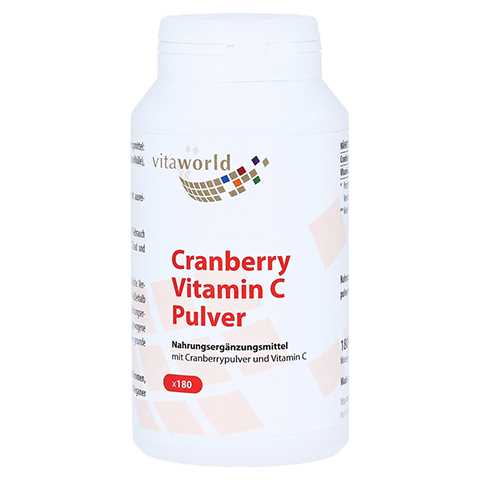 CRANBERRY PLUS C 400 mg Kapseln 180 St�ck