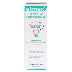 ELMEX SENSITIVE PROFESSIONAL Zahnspülung 100 Milliliter - Vorderseite