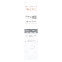AVENE PhysioLift Tag straffende Emulsion 30 Milliliter - Rückseite