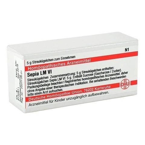 LM SEPIA VI Globuli 5 Gramm N1
