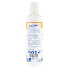 W�SCHEDESINFEKTION Hygiene-Sp�ler ab 20� C 500 Milliliter - R�ckseite
