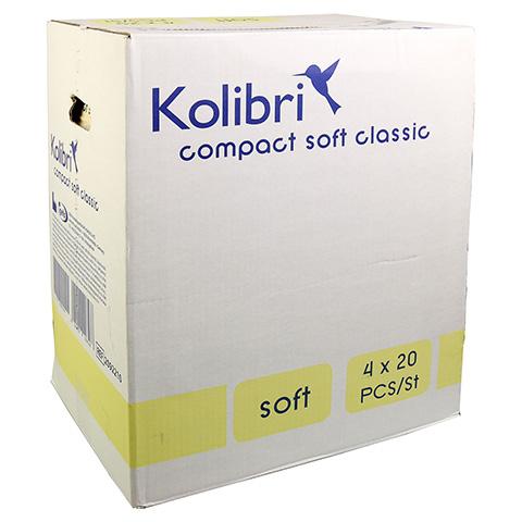 KOLIBRI compact soft Vorlagen anatomisch classic 4x20 Stück