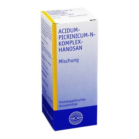 ACIDUM PICRINICUM N Komplex flüssig 50 Milliliter N1
