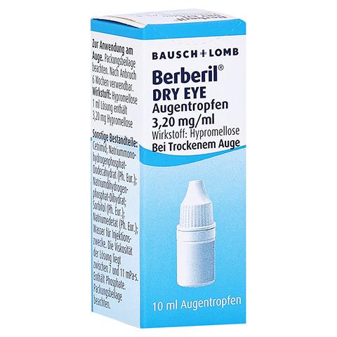 BERBERIL Dry Eye Augentropfen 10 Milliliter