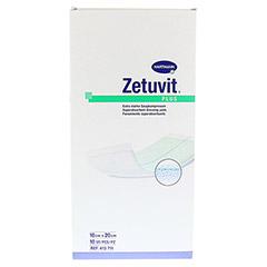 ZETUVIT Plus extrastarke Saugkomp.ster.10x20 cm 10 Stück - Vorderseite