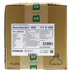 STEROFUNDIN ISO Ecoflac Plus Infusionsl�sung 10x250 Milliliter N2 - Vorderseite