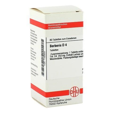 BERBERIS D 4 Tabletten 80 Stück N1