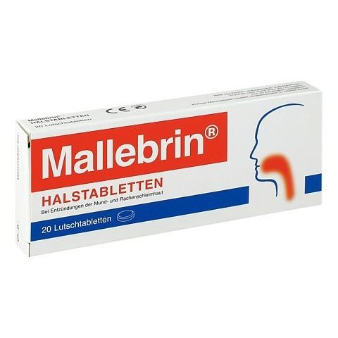 Mallebrin Halstabletten 20 Stück