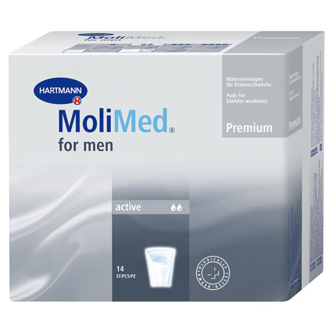 MOLIMED for men Active 14 Stück