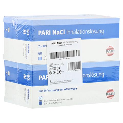 PARI NaCl Inhalationslösung Ampullen 120x2.5 Milliliter