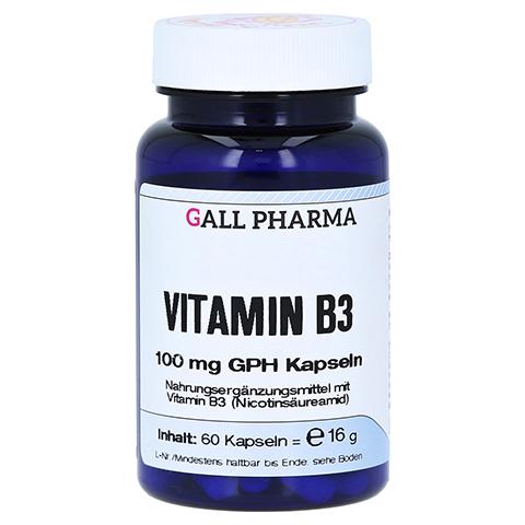 VITAMIN B3 100 mg GPH Kapseln 60 Stück