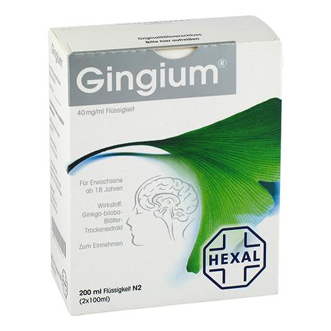 Gingium 40mg/ml 2x100 Milliliter N2