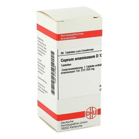 CUPRUM ARSENICOSUM D 12 Tabletten 80 Stück N1
