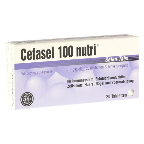 CEFASEL 100 nutri Selen-Tabs 20 St�ck