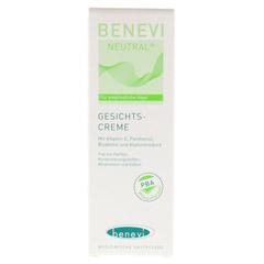 BENEVI Neutral Gesichts-Creme 50 Milliliter - Vorderseite