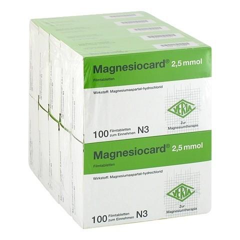 MAGNESIOCARD 2,5 mmol Filmtabletten 10x100 Stück