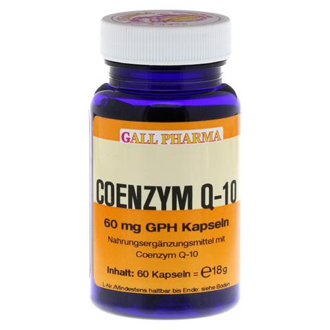 COENZYM Q10 GPH 60 mg Kapseln 60 Stück