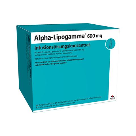 ALPHA LIPOGAMMA 600 Inf.Lsg.Konzentrat Inf.-Lsg. 20x24 Milliliter N3