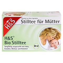 H&S Bio Stilltee Filterbeutel 20 Stück - Vorderseite