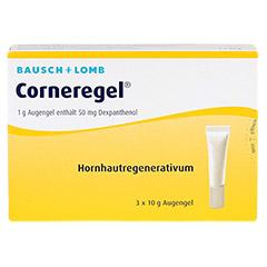 CORNEREGEL Augengel 3x10 Gramm - Vorderseite
