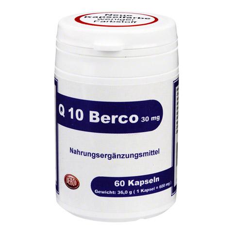 Q10 BERCO 30 mg Kapseln 60 Stück