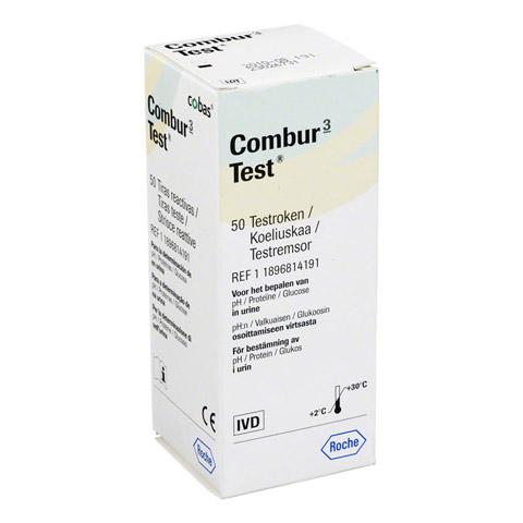COMBUR 3 Test Teststreifen 50 Stück