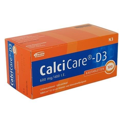 CalciCare-D3 600mg/400I.E. 100 Stück