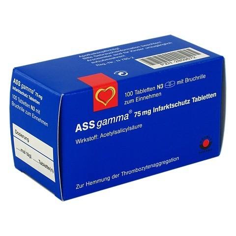 ASS gamma 75mg 100 Stück N3