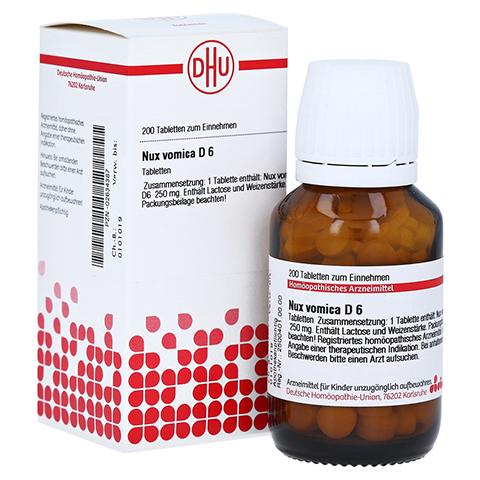 NUX VOMICA D 6 Tabletten 200 Stück N2