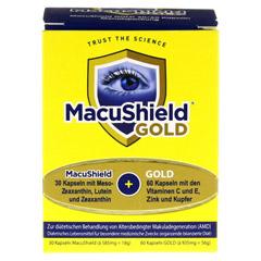 MACUSHIELD GOLD 30+60 Kapseln 90 Stück - Vorderseite