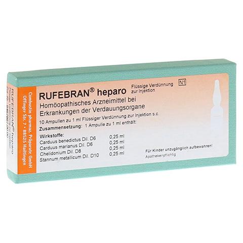 RUFEBRAN heparo Ampullen 10 Stück N1