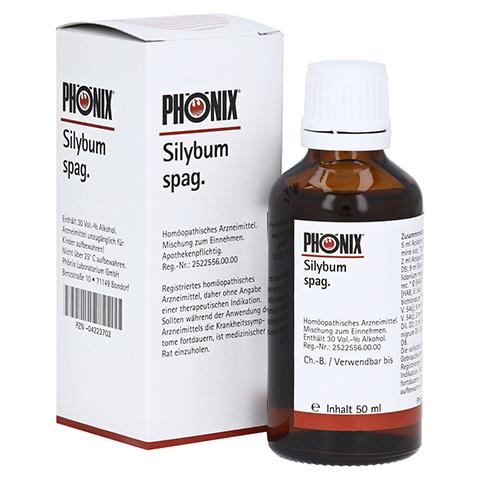 PH�NIX SILYBUM spag. Tropfen 50 Milliliter N1