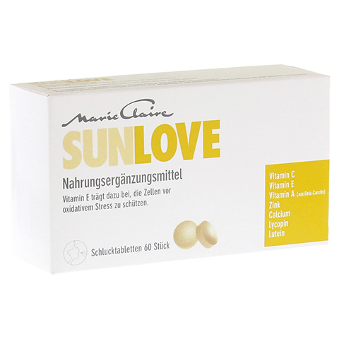 MARIE Claire Sunlove Tabletten 60 St�ck