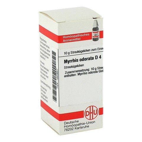 MYRRHIS odorata D 4 Globuli 10 Gramm N1