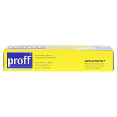 Proff Schmerzgel 50mg/g 100 Gramm N2 - Oberseite