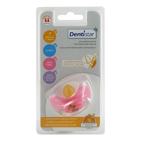 DENTISTAR BS Latex mit Ring Babys ohne Zähnen 1 Stück