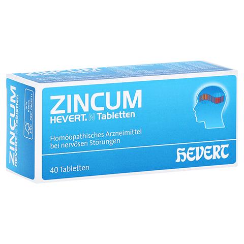 ZINCUM HEVERT N Tabletten 40 Stück N1
