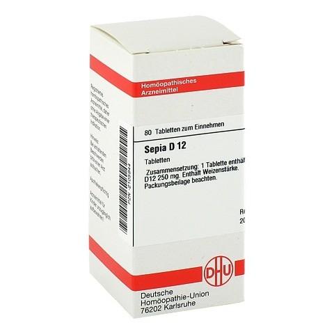 SEPIA D 12 Tabletten 80 St�ck N1